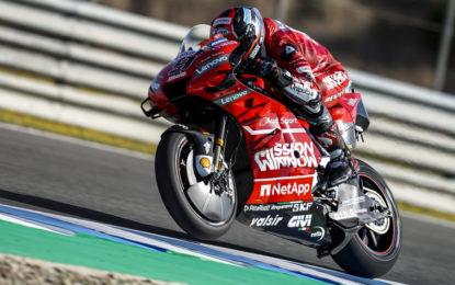 Petrucci e Dovizioso 1° e 3° nelle libere di Jerez