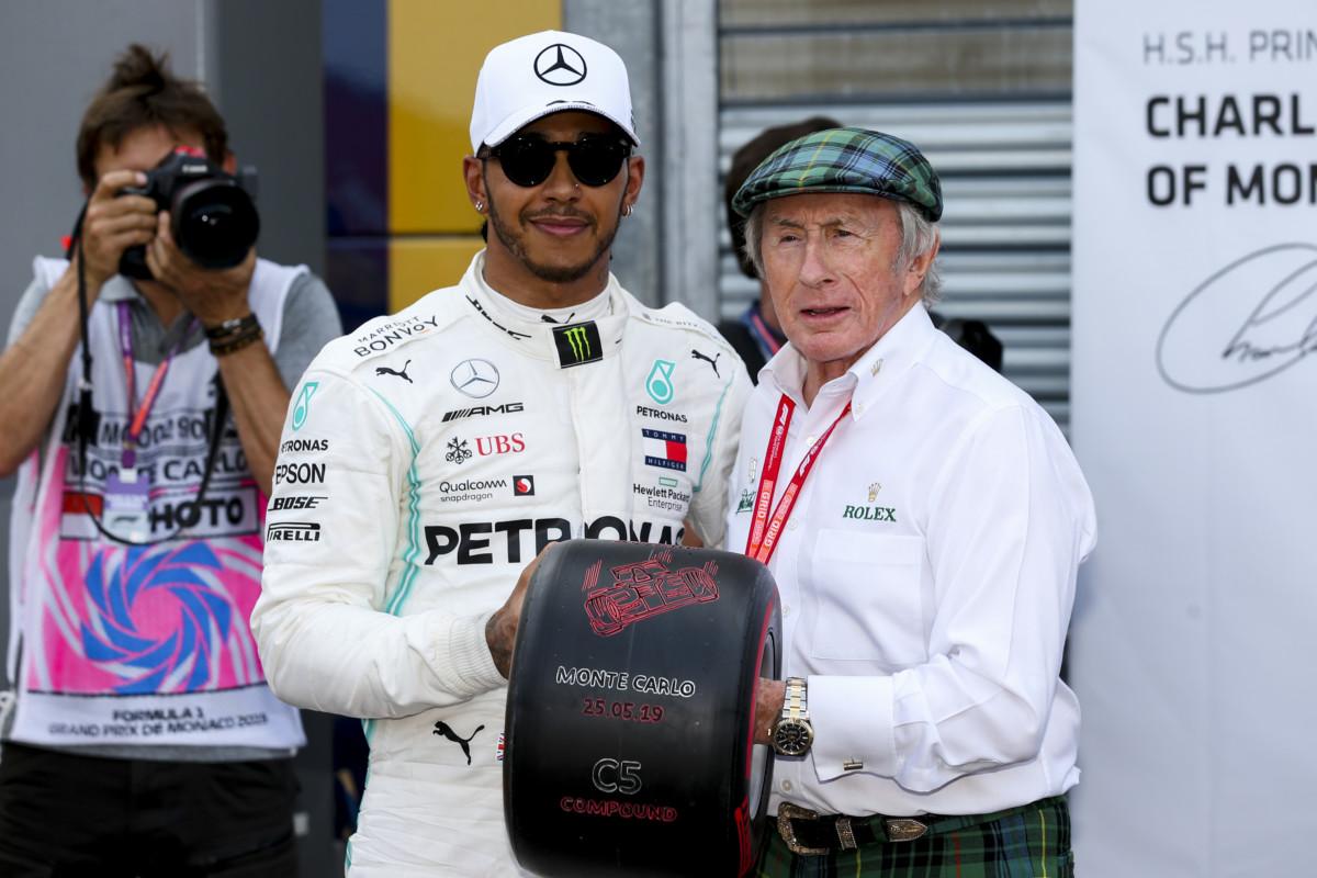 Pirelli C5: record a Monaco, ma anche un'asta con Sir Jackie Stewart