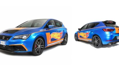 Leon Cupra Hot Wheels Edition ai Motor1Days