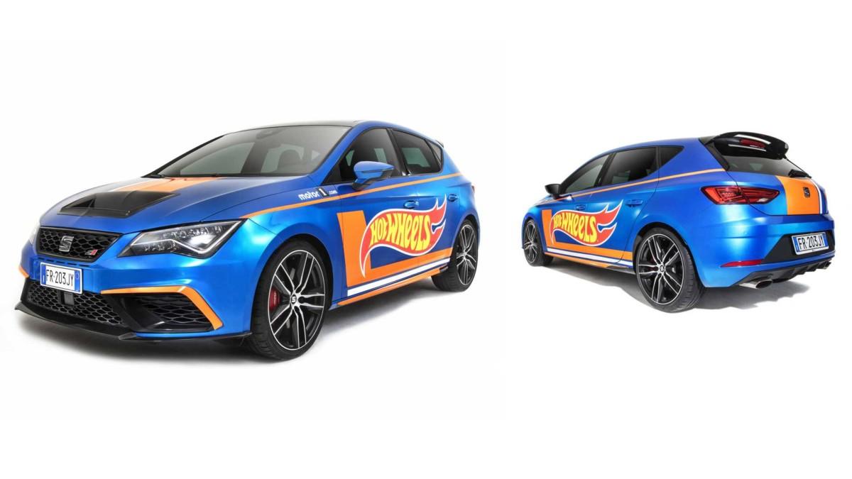 Leon Cupra Hot Wheels Edition ai Motor1Days