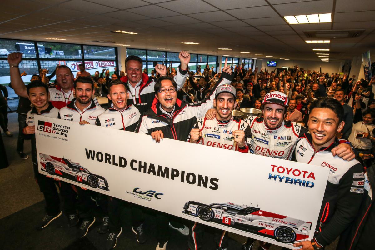 A Spa Toyota GAZOO Racing campione WEC