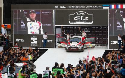 La Yaris WRC di Tänak vince il Rally del Cile