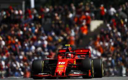 Austria: Leclerc in pole su soft, i rivali su medium