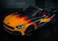 Hot Wheels Abarth al primo Drive-In di Milano