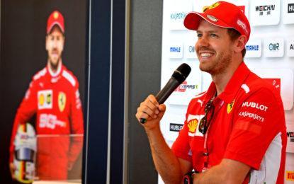 Vettel papà per la terza volta: le cose che contano nella vita