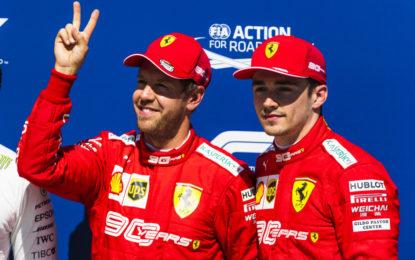 """Berger: """"Vettel può battere Leclerc nel 2020"""""""