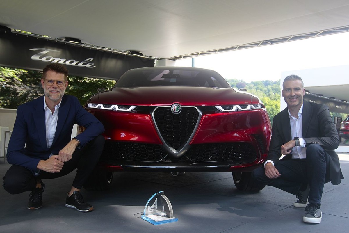 """Car Design Award"" all'Alfa Romeo Tonale"