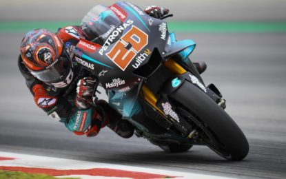 MotoGP: Quartararo e Dovizioso nel venerdì al Catalunya