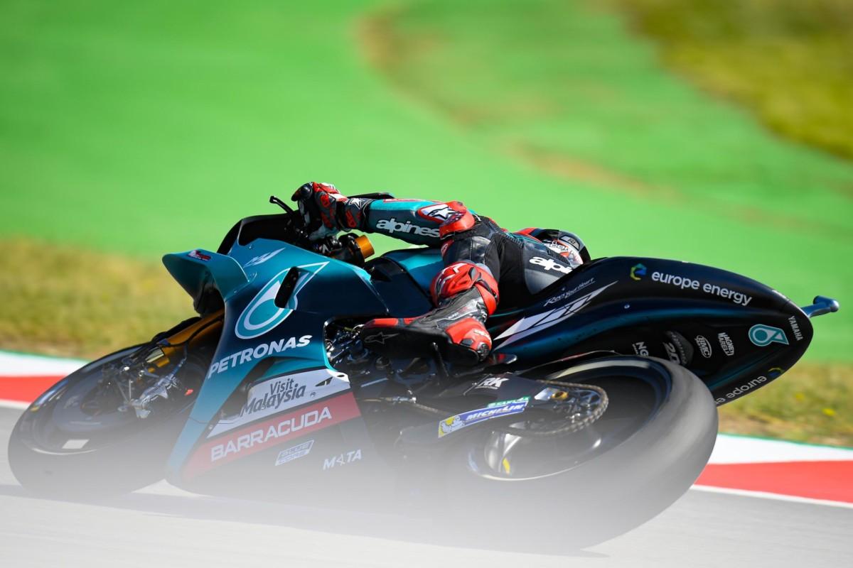 Catalunya: pole di Quartararo, poi Marquez e Viñales. Rossi 5°