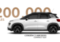 Citroën C3 Aircross a quota 200.000!