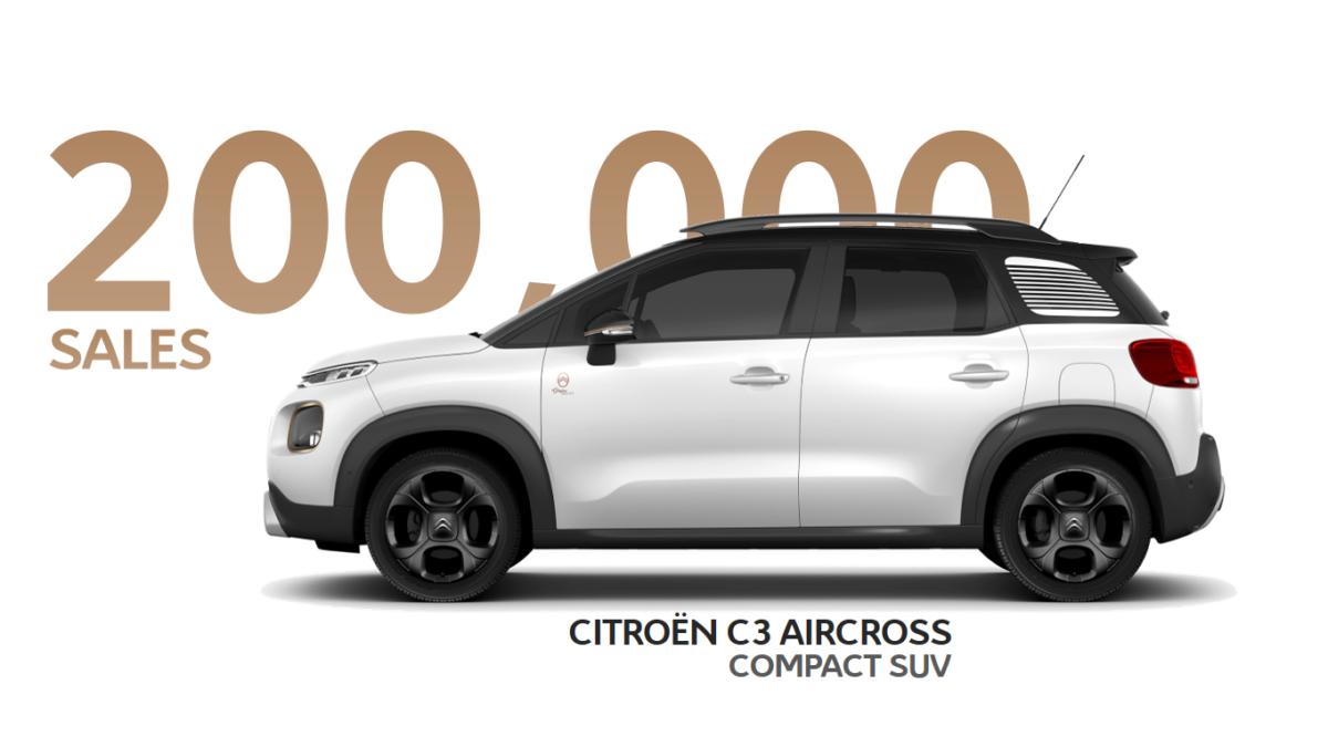 Citroën C3 Aircross a quota 200.000!