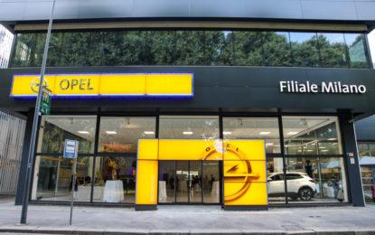 Nuova filiale Opel inaugurata a Milano