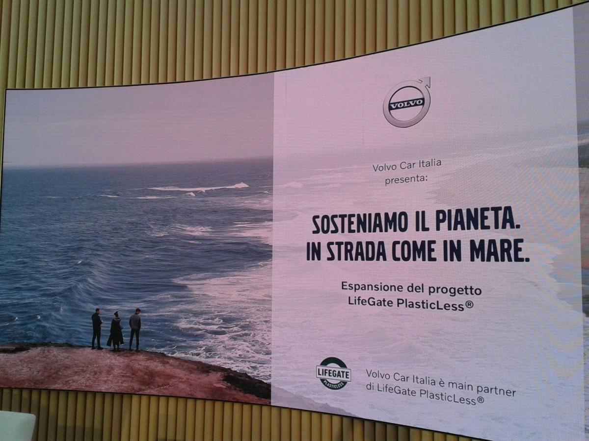 Volvo con i concessionari per il progetto LifeGate PlasticLess