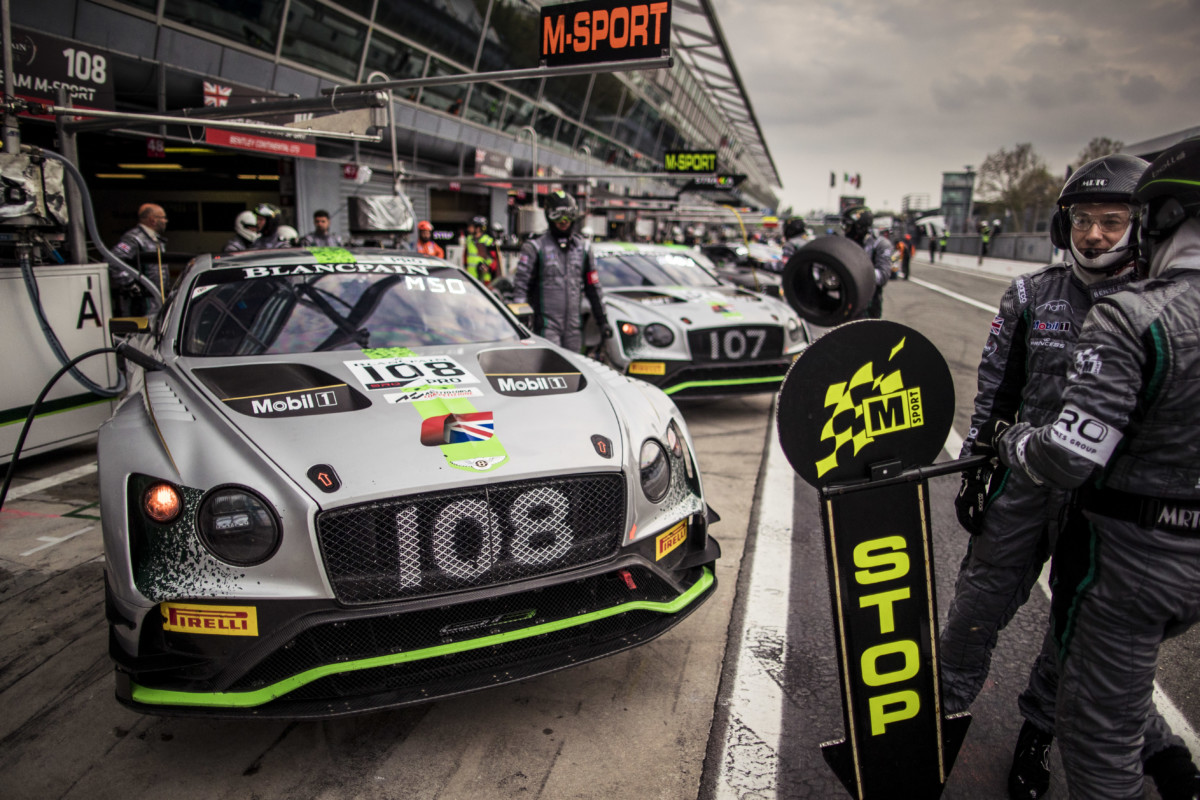 Adrenalina a Monza con Bentley e il Team M-Sport
