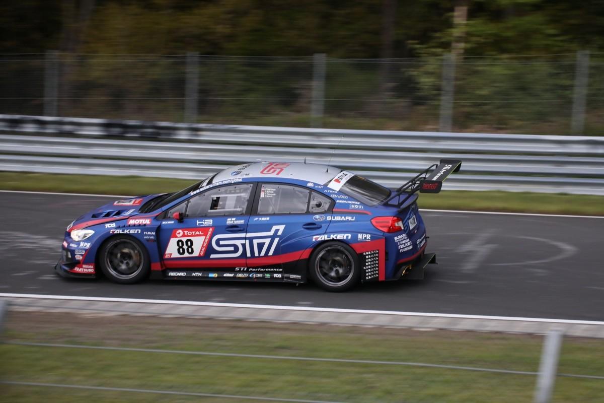 Vittoria di classe della Subaru WRX STI NBR Challenge al Nür