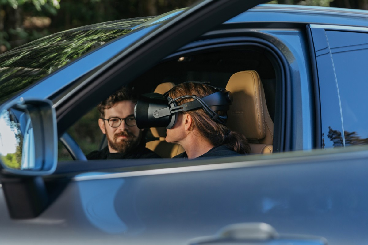 Volvo Cars e Varjo: la prima app di mixed reality