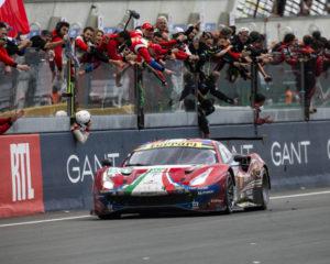 La Ferrari trionfa a Le Mans e celebra i 70 anni dal primo successo