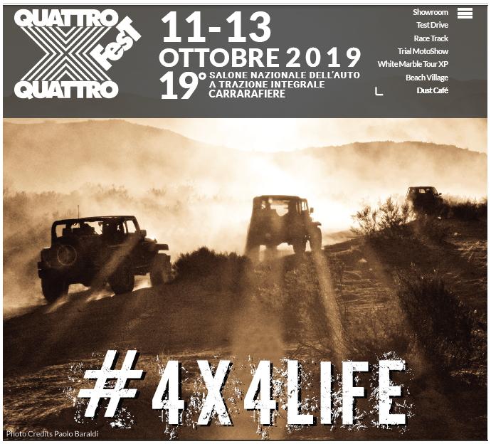 #4X4LIFE: si scaldano i motori per l'edizione 2019