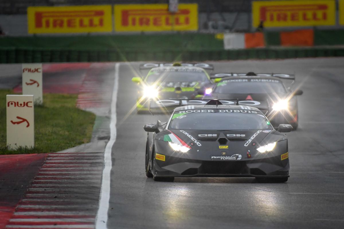 Il Lamborghini Super Trofeo in scena a Misano