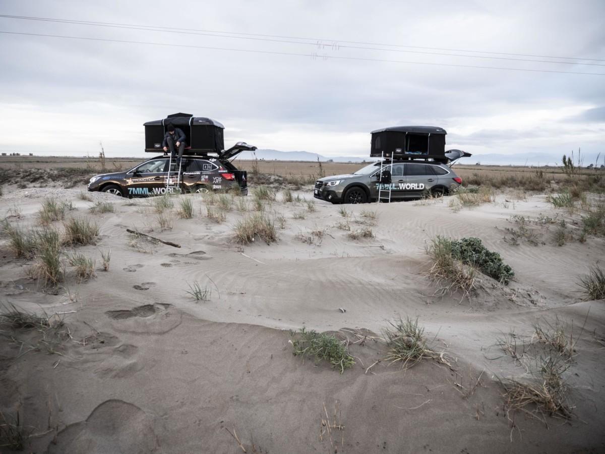 7milamiglialontano: il viaggio delle Subaru Outback prosegue