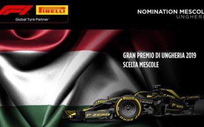 Le mescole per il GP di Ungheria 2019