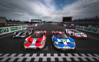 Team Ford Chip Ganassi Racing pronto per Le Mans 2019