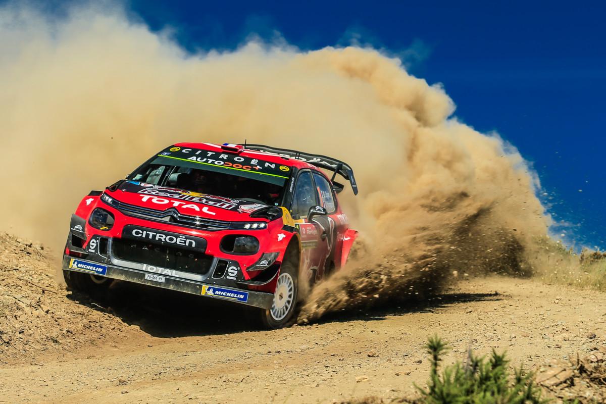 La C3 WRC pronta per affrontare la Sardegna
