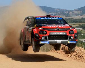 WRC Sardegna: Ogier-Ingrassia e C3 WRC subito in testa