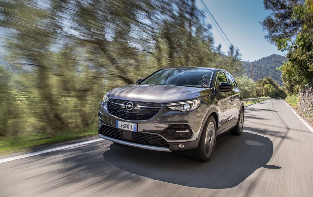 Opel al Salone di Torino con Grandland X