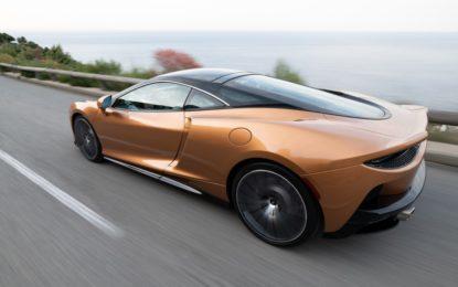 McLaren GT: prima nazionale a Torino