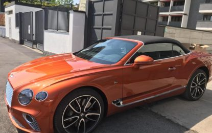 Nuova Bentley Continental GT Convertible al Salone di Torino