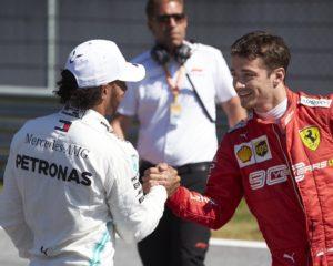 Leclerc vorrebbe la forza mentale di Hamilton