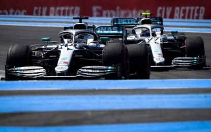 Francia: ed è subito dominio Mercedes