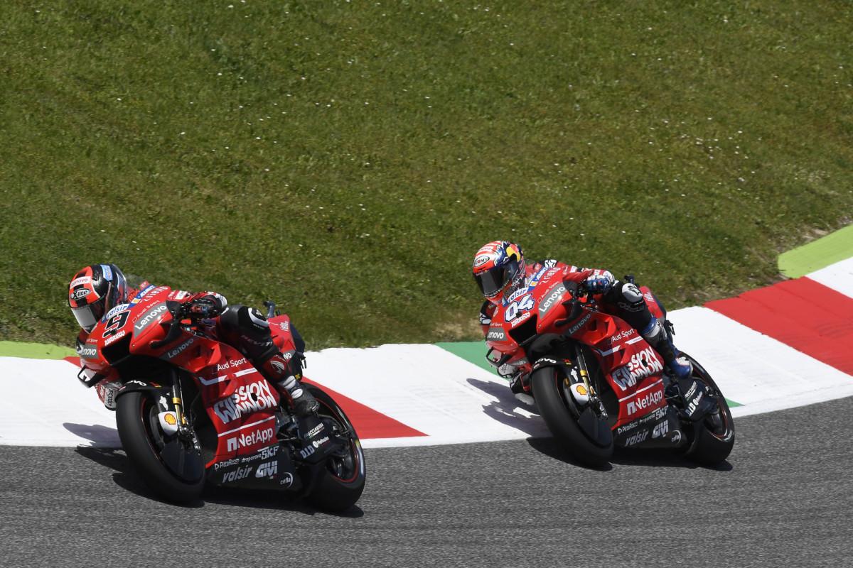 Ducati pronta a scendere in pista al Catalunya