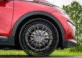 Michelin e GM presentano Uptis, primo pneumatico airless
