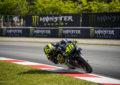 """Rossi: """"Bene, la Yamaha è veloce e competitiva"""""""