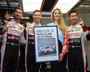TOYOTA GAZOO Racing prima e seconda in qualifica a Le Mans