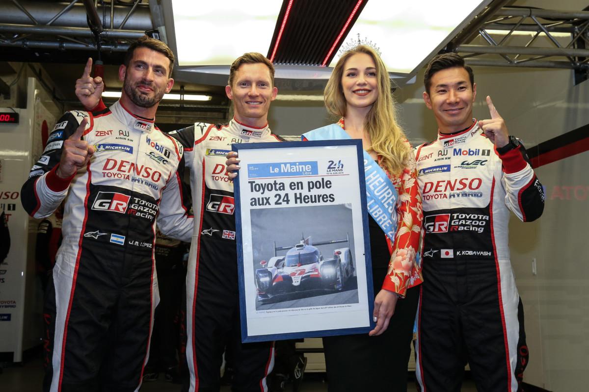 TOYOTA GAZOO Racing prima e seconda in qualifica a Le Mans