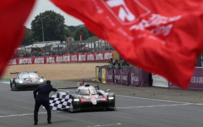 Le Mans: doppietta e Titolo Toyota, vince la #8, la #7 beffata da un sensore