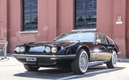 50 anni fa la consegna della prima Maserati Indy