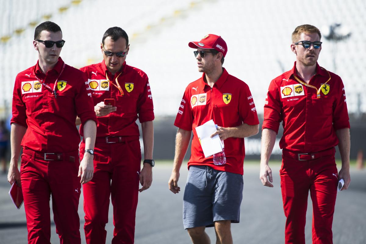 Vettel: voglia di vincere e l'onore di correre per la Ferrari