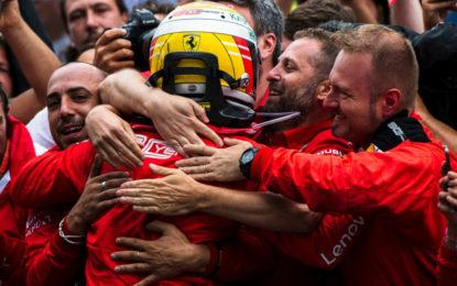 Il riscatto di Vettel salva il weekend della Ferrari in Germania