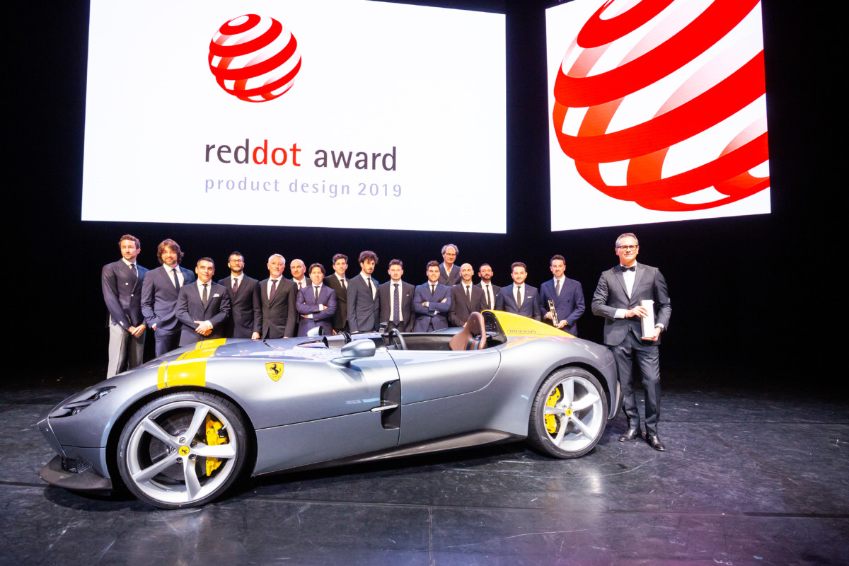 Al Ferrari Design il Red Dot Design Team of the Year 2019