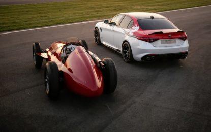 """A Silverstone torna in pista l'Alfa Romeo GP Tipo 159 """"Alfetta"""""""