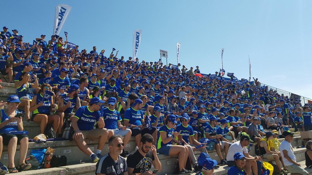 MotoGP: a Misano torna la tribuna Suzuki
