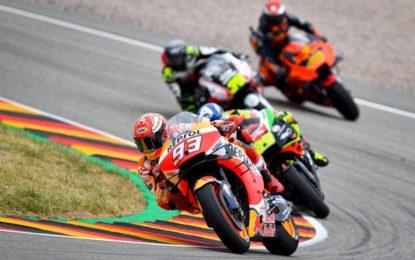 Decima pole record di Marquez in Germania
