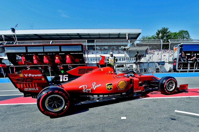 Ferrari più veloci nel caldissimo venerdì di Hockenheim