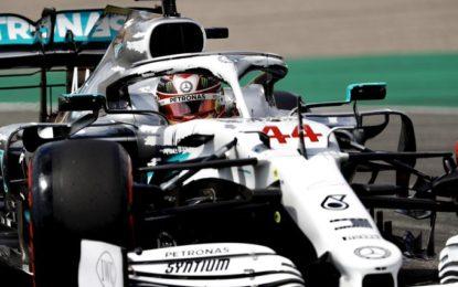 In Germania prima fila Hamilton-Verstappen. Ferrari che batosta!