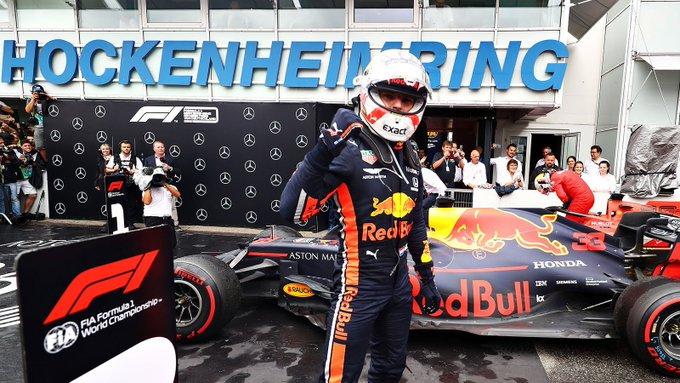 Hockenheim da urlo con Verstappen, Vettel e Kvyat e colpi di scena a raffica