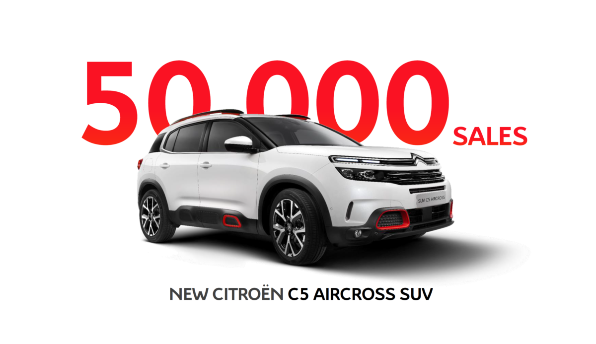 Nuovo Citroën C5 Aircross già a quota 50.000